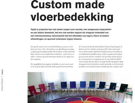 PI – Custom made vloerbedekking