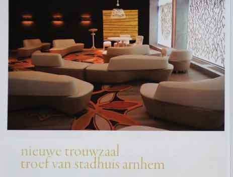 Eigen magazine (trouwzaal arnhem) lente 2012