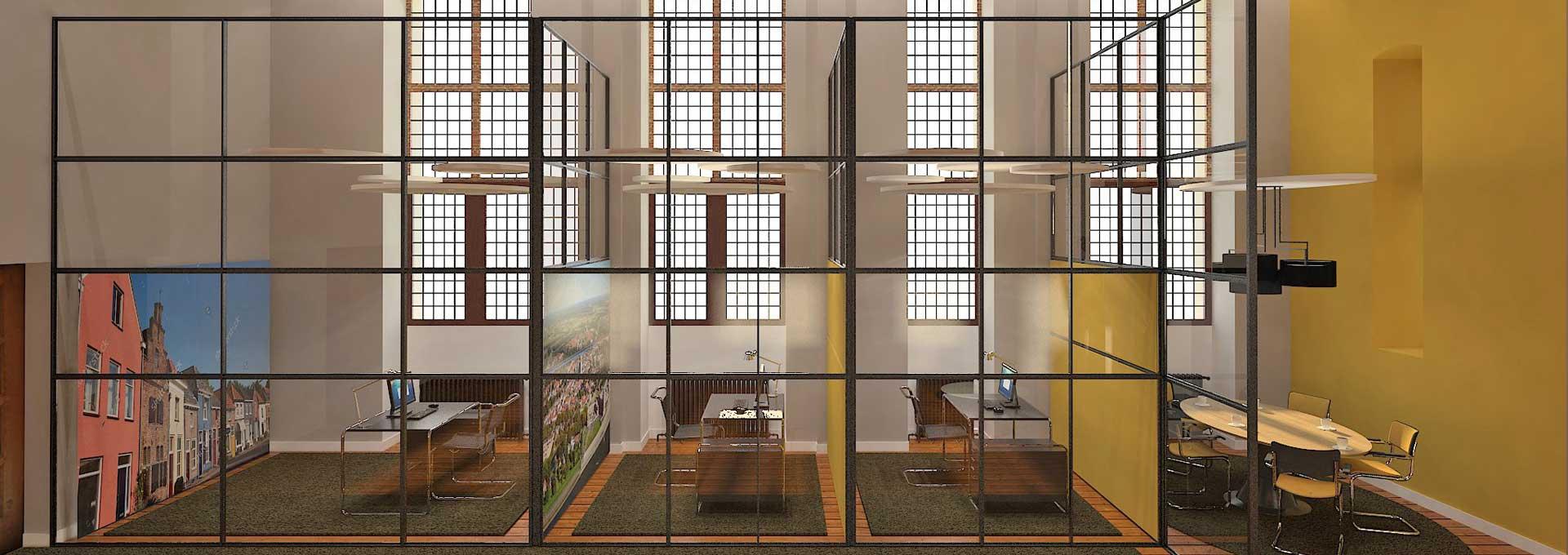 Kamers wethouders stadhuis Doesburg