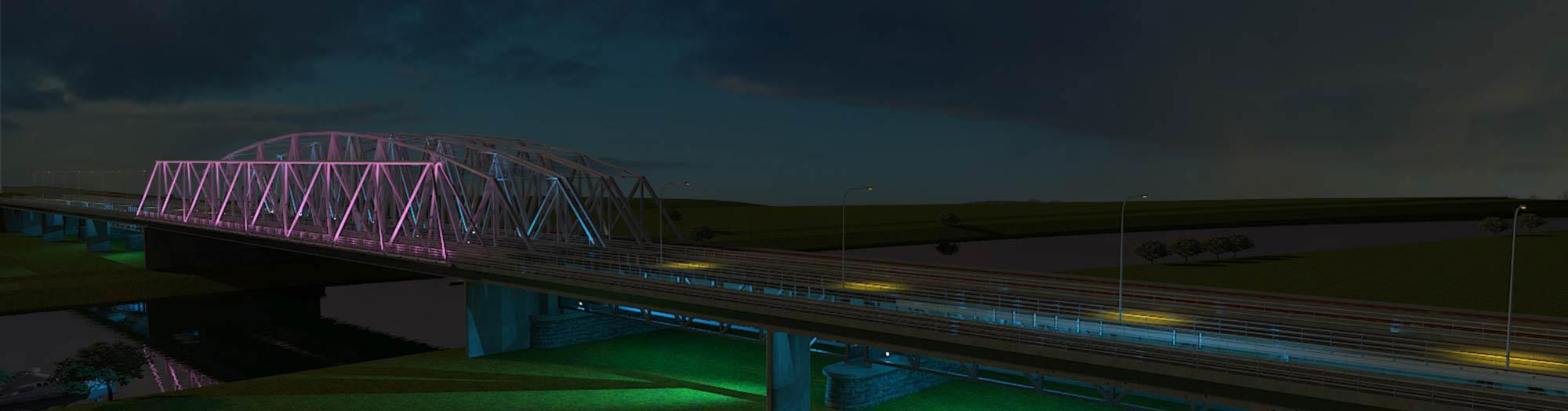 Advies verlichting brug Westervoort