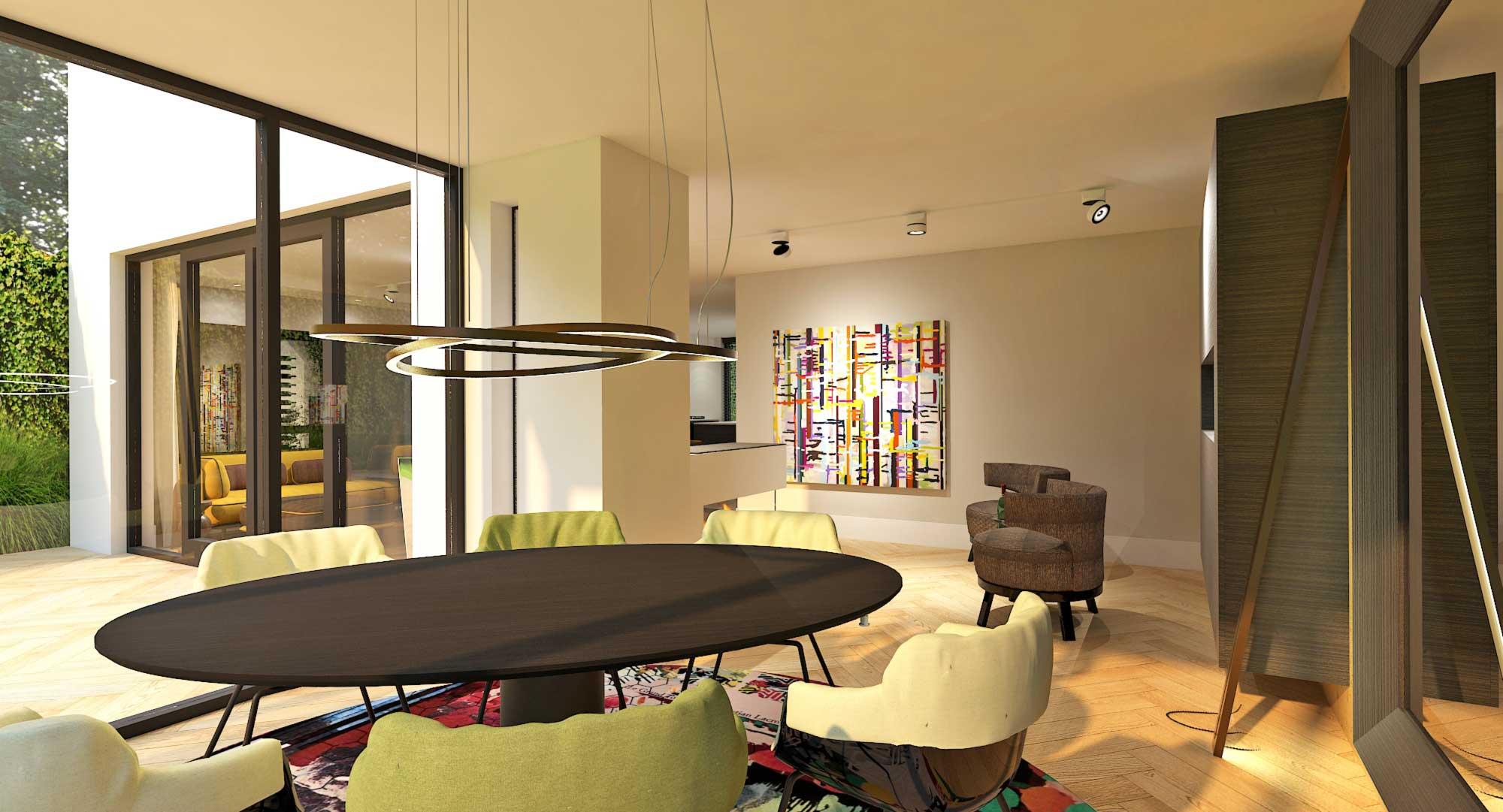 Ontwerpbureau voor interieur en ruimtelijke vormgeving for Woonhuis rotterdam